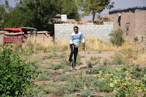 الإرادة هي الفكرة.. بالاعتماد على الزراعة تغلَّب على إعاقته