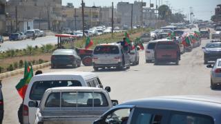 شبيبة إقليم الفرات يتجهون للجزيرة للمشاركة في المسيرة المتجهة إلى باشور