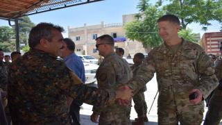 جنرال أمريكي من منبج: نحن حريصون على أمن المدينة وسنبقى لإبعاد أي خطر