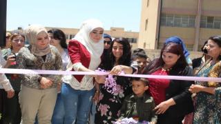 افتتاح مركز الرابطة الثقافية للمرأة في مدينة قامشلو