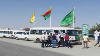 شبيبة الشمال السوري يتوجهون إلى باشور كردستان