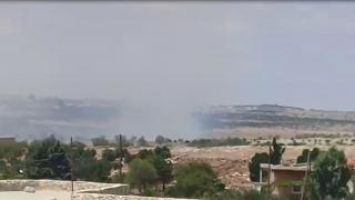 مرتزقة تركيا يحرقون80 هكتار في ناحية شيراوا