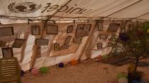 معرض لرسوم عبر فيها أطفال عفرين عما بداخلهم