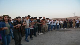 اختتام فعالية اعتصام المنظمات الشبابية على معبر سيمالكا بفعاليات وبيان