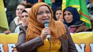 انتهاء تظاهرة قامشلو بتسليم بيان لمنظمة الأمم المتحدة