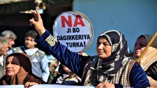تظاهرة في عامودا والمشاركون يقولون: لن نتخلى عن أرضنا