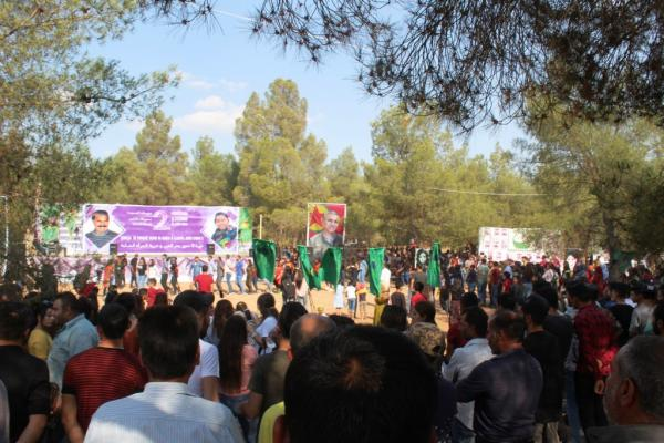 Young Woman Union organized Martyr Stervan Festival in Kobanî