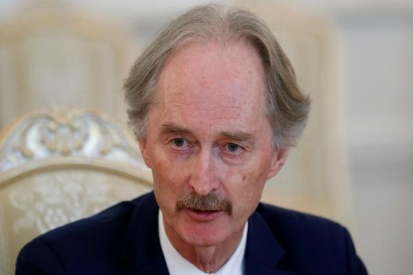 UN envoy to Syria, Geir Pederson, suspends his work
