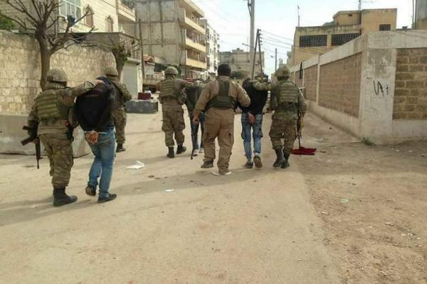 Turkish occupation, its gangs kidnapped 3 citizens in Afrin