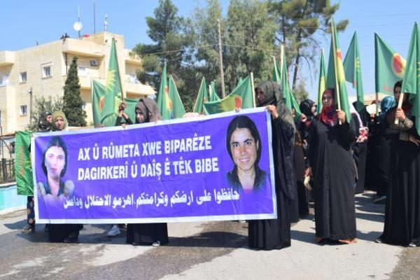 Kongra Star demands from world's women to support them against Turkish threats
