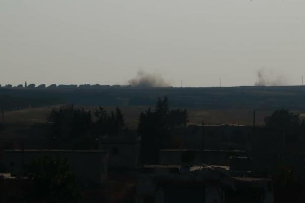 Turkish shelling extends to other villages in Shera