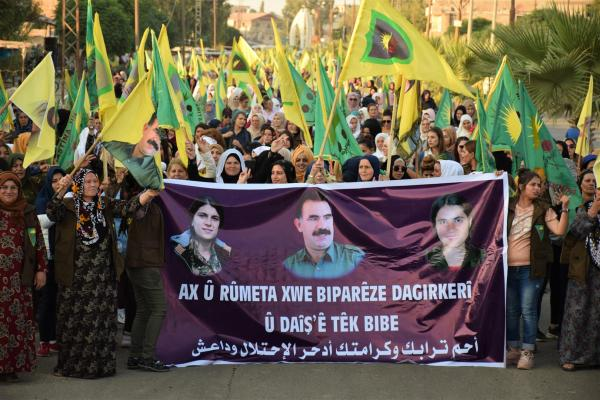 Thousands of HPC demonstrated against Turkish occupation