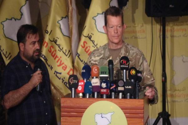 Gen. Nicholas Pont: We to continue support SDF, reject any Turkish intervention in the area