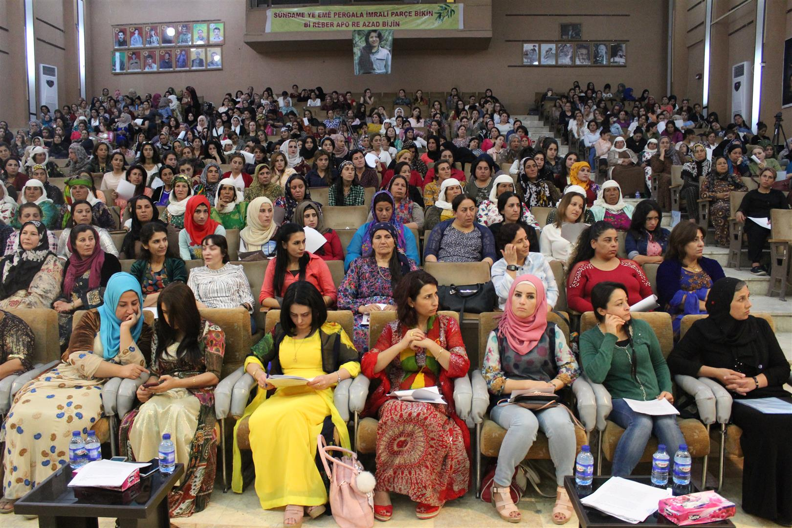 Seventh conference of Kongra Star on its Second day initiated