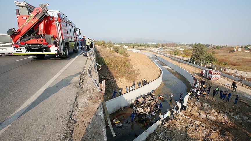 15 immigrants killed in Turkey