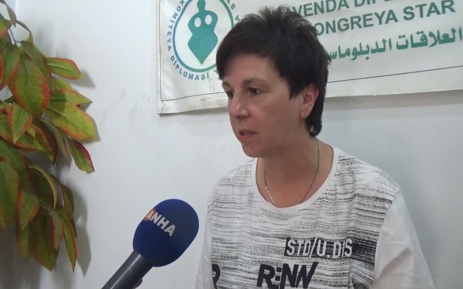 Claudia Lucas: Erdogan does not appeal to German people