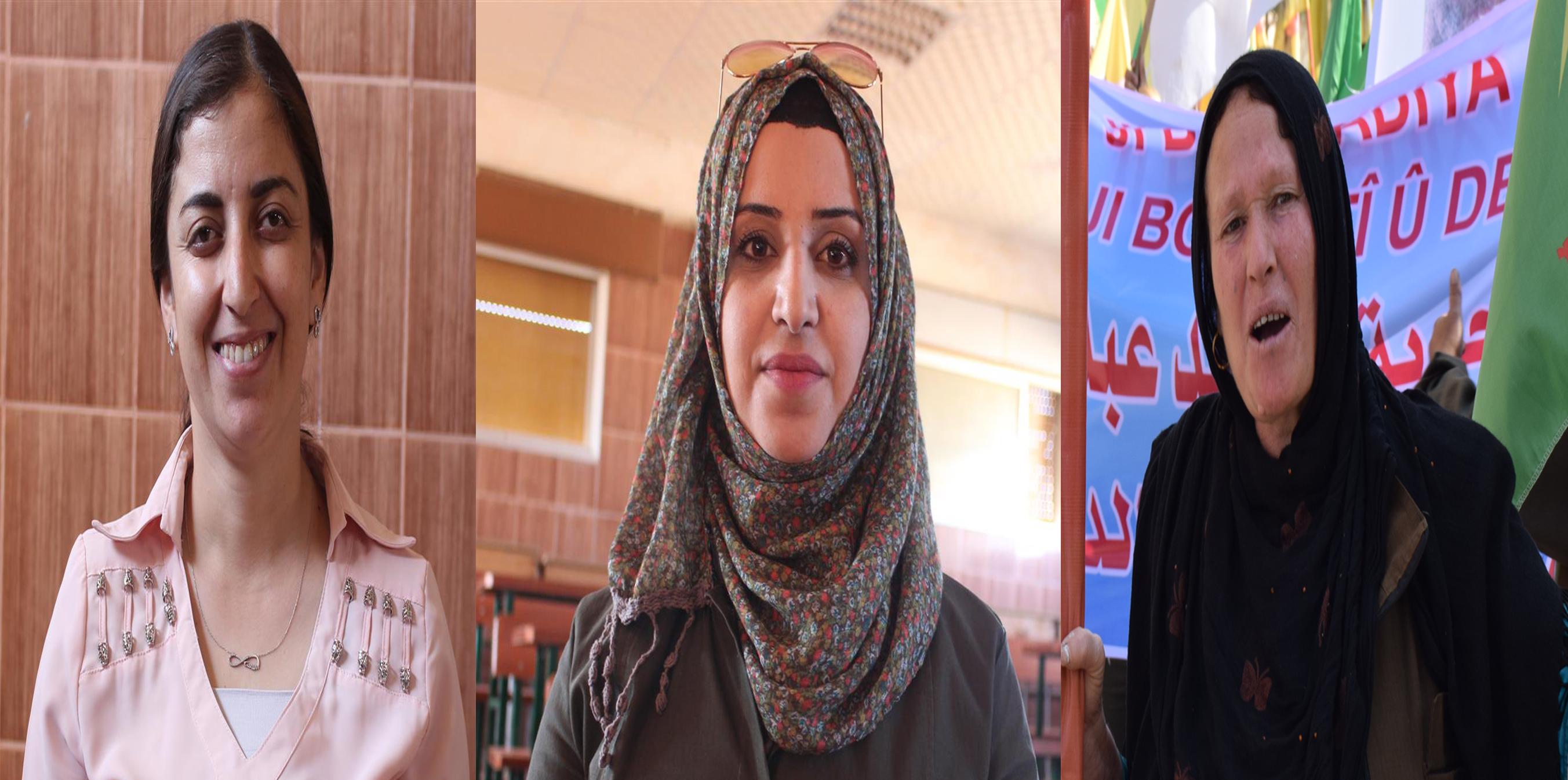 Women in al-Hasakah canton: Afrin will be liberated by Afrini women's power