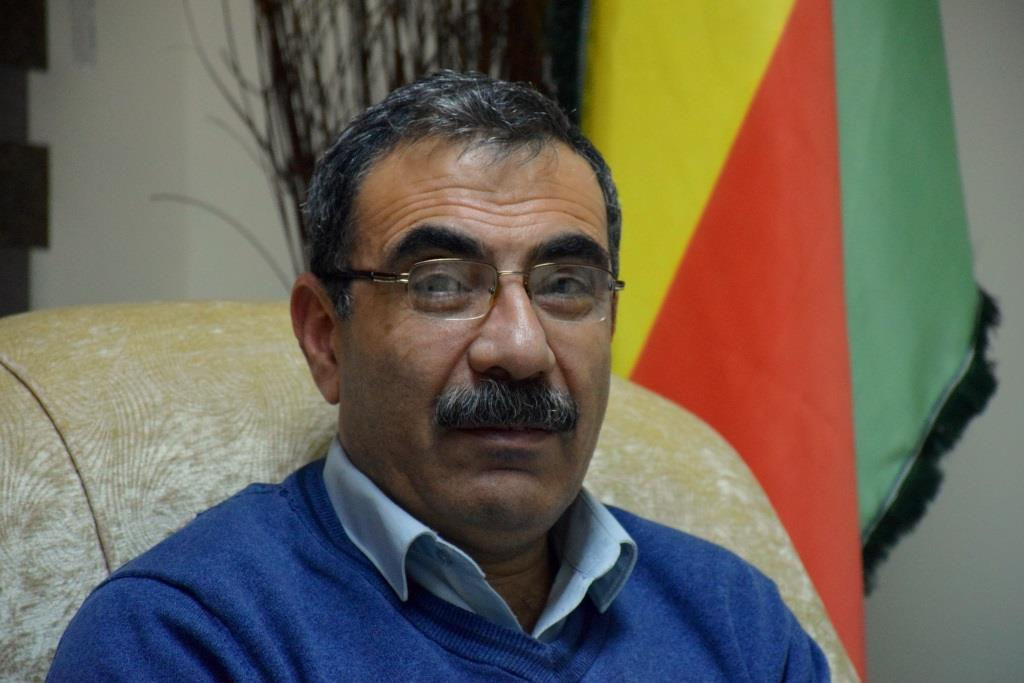 Aldar Khalil: We to not accept safe area under Turkish supervision- UPDATED