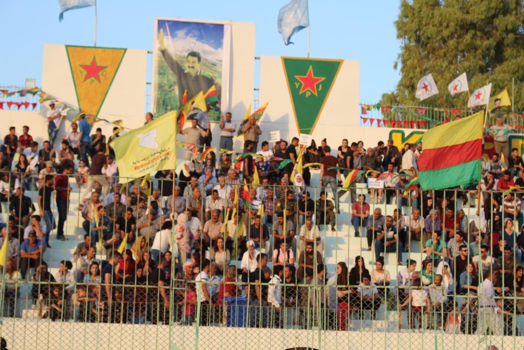 March in Qamishlo commemorated August 15 Leap's anniversary
