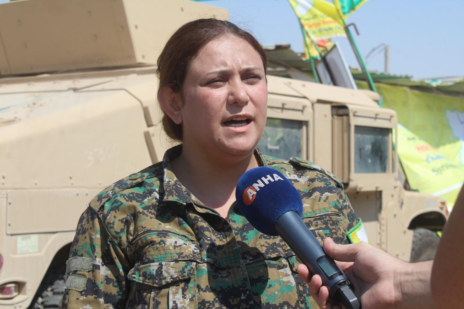 Liwa Al Abdullah Women Fighters Participate In Battle To Liberate Abducted