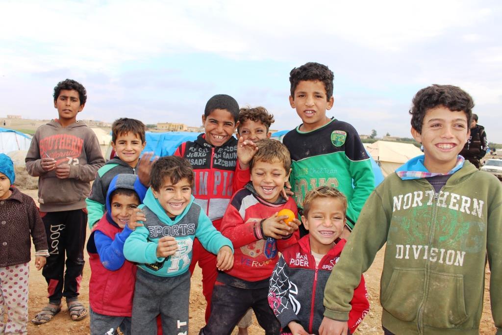 Al-Jerobo camp's children , between tragic present, ambiguous future