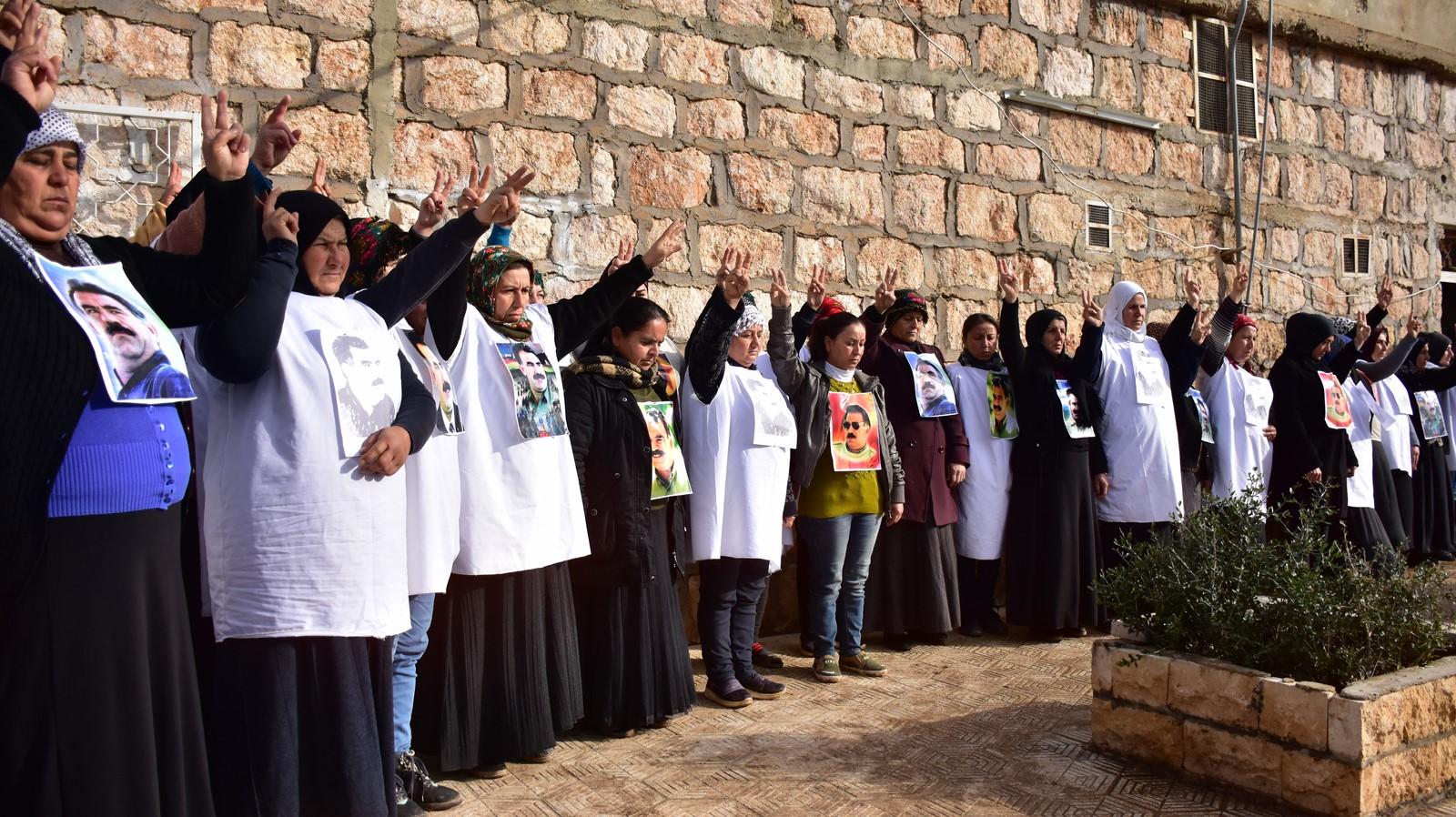 Women of Afrin start hunger strike effectiveness