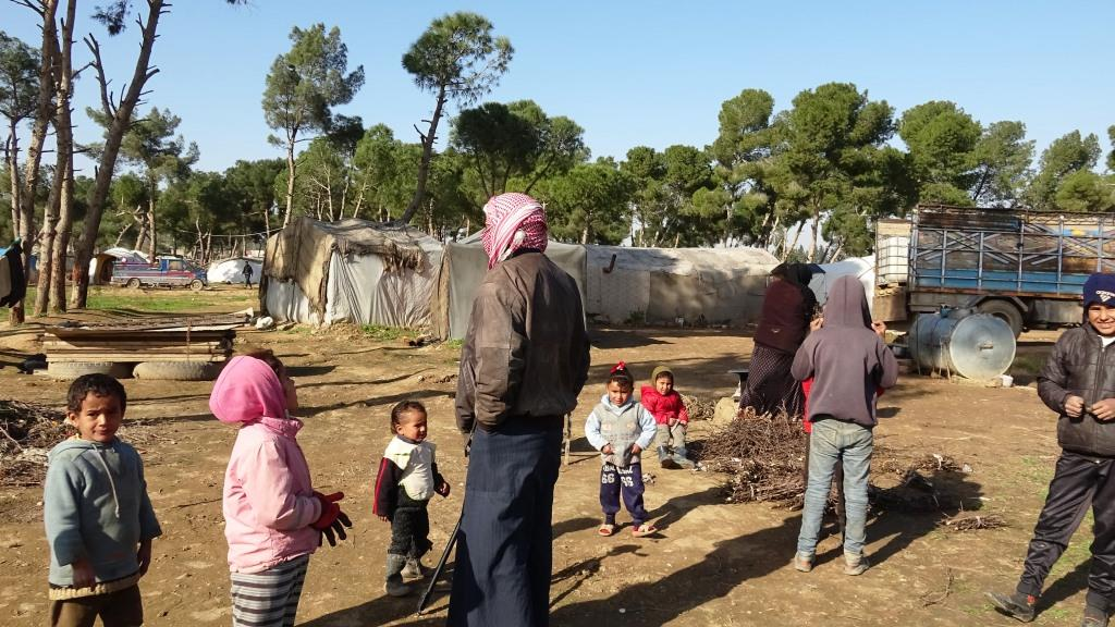 Suffering of displaced people in Yarub camp is aggravated by cold