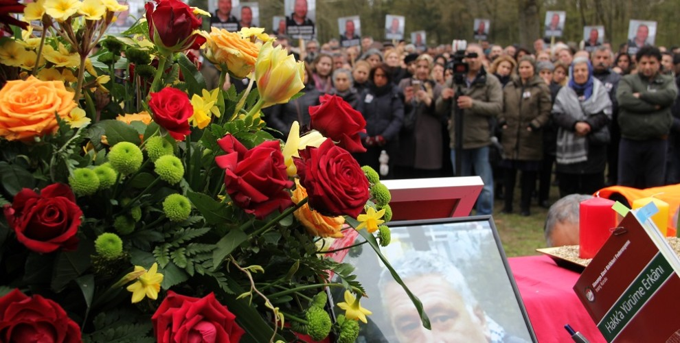 Corpse of martyr Uğur Şakar bid farewell in Germany