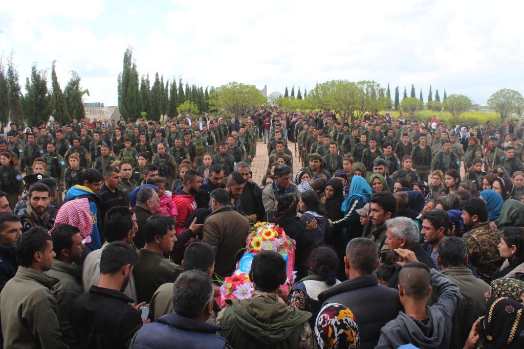 Hundreds bid martyr Farouk Samo farewell to his last resting place