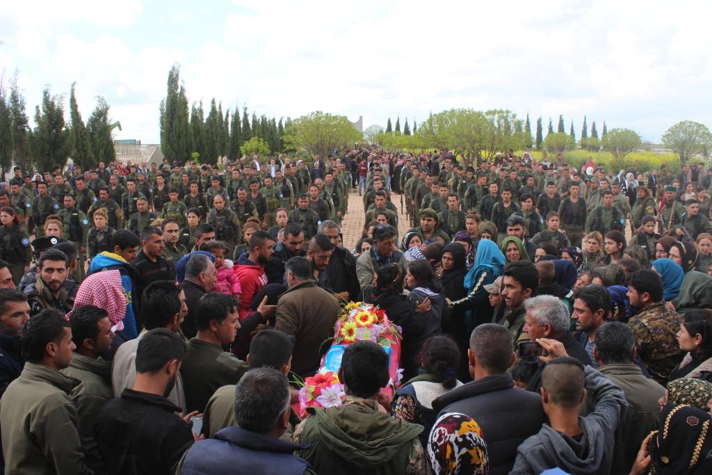 Hundreds bid martyr Farouk Samo farewell to his last resting place