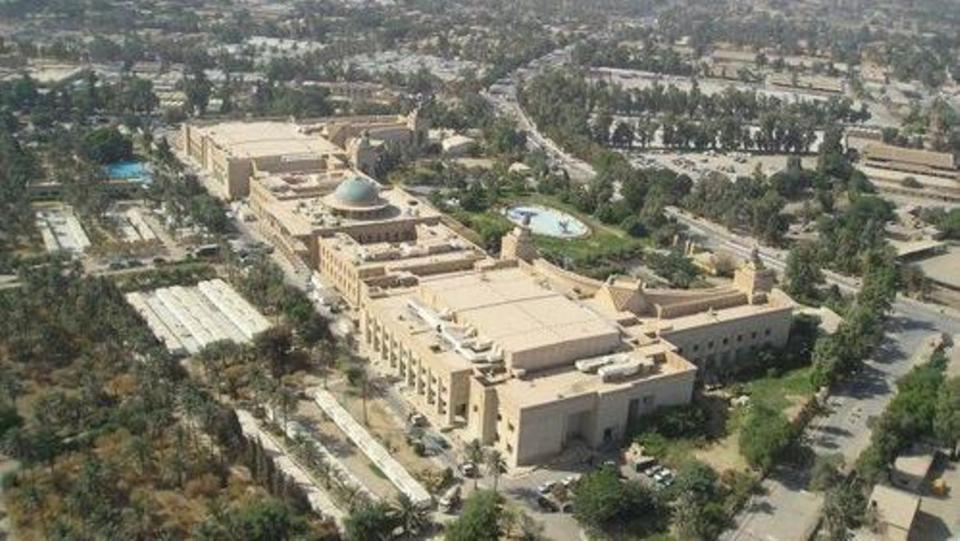 Security alert after a missile fell near US embassy in Baghdad