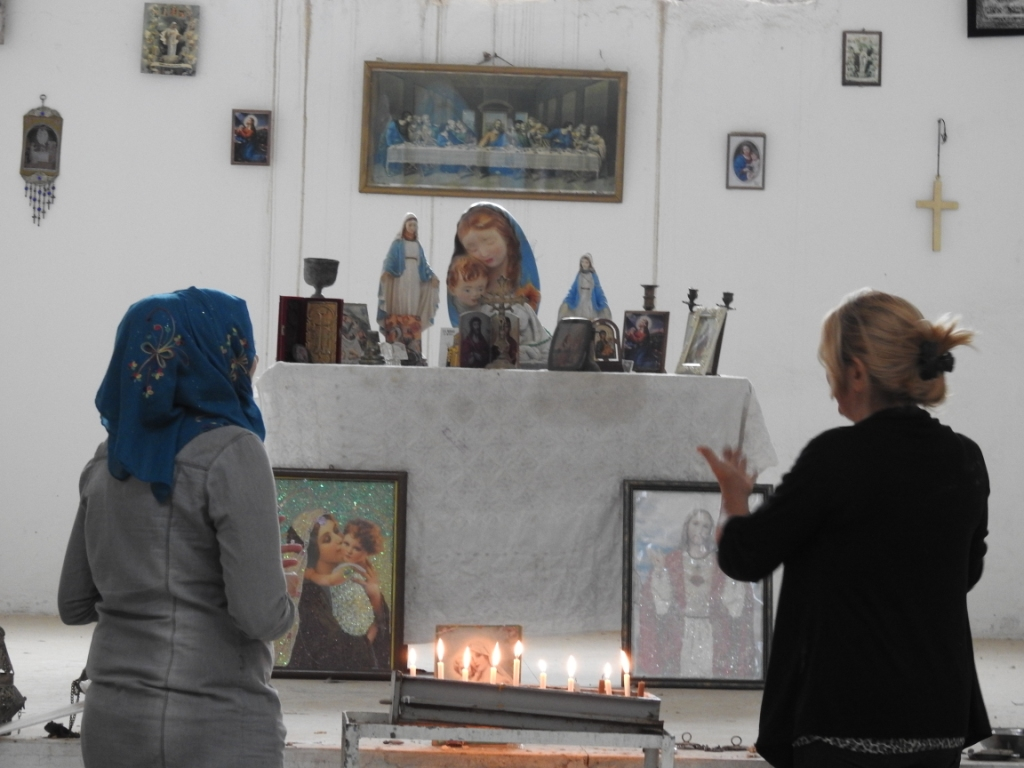 Armenians in Girê Spi returned to live freely, sound of bells above their church