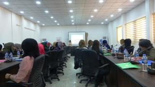Work project in Ain Issa to discuss priorities of Syrian women
