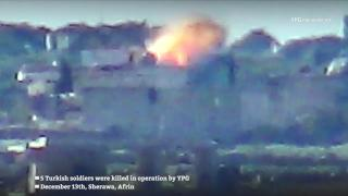 Elimination of 5 Turkish soldiers in Afrin