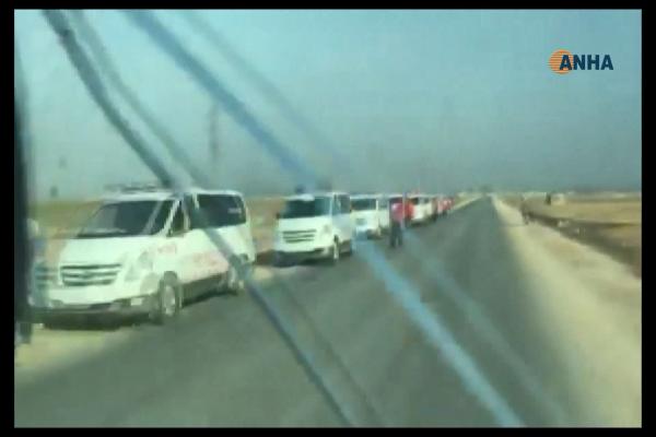 Ambulances of Red Crescent, Red Cross reach Serekaniye