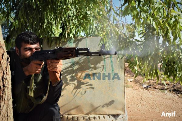 Strong clashes occur in the vicinity of Qasimia and Rihania villages in Tell Tamr