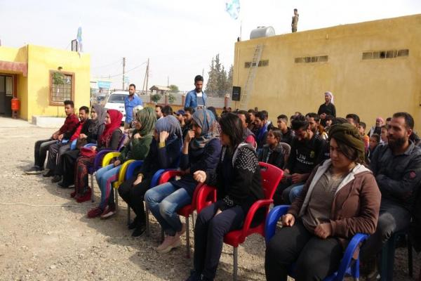 Confirming to continue resistance, confront occupation during meeting in al-Raqqa