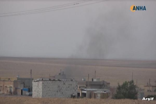 Turkish occupation, its mercenaries brought reinforcements to Tel-Tamr, Zerkan's countryside