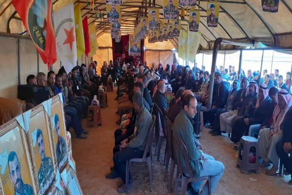 Tel Hamis people consoled families of 3 martyrs of Resistance of Dignity