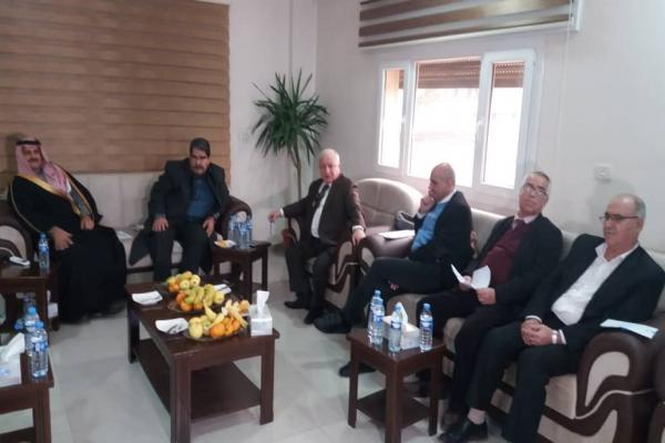 Political forces from inside Syria meet with representatives of parties in its north