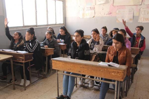 Education process resumed in Tel-Tamr schools