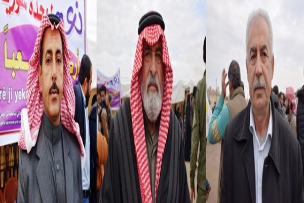 Deir-ez-Zor clans : Invitations for defection from SDF its aim to sow discord between Syrians
