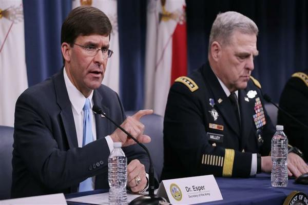 Esper: SDF is our partners, we contine our tasks in Syria