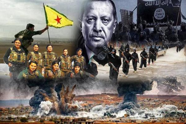 Kobani ... ISIS defeat's story, Turkey is the new of global terrorism