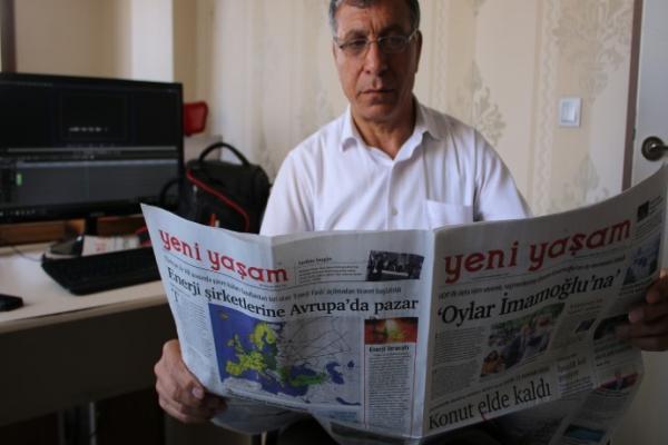 Turkish authorities arrested journalist Hakki Boltan