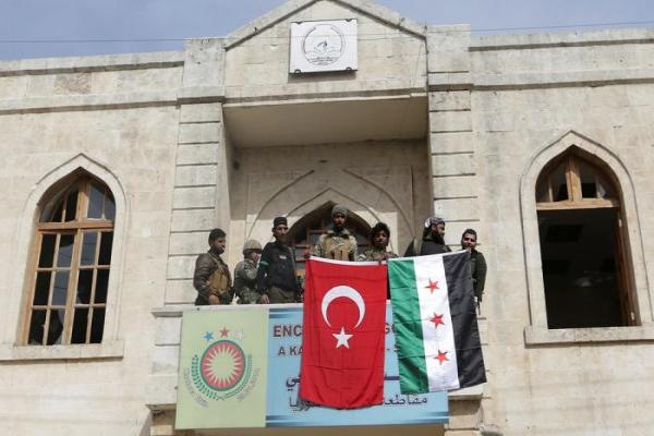 Turkish occupation forces Afrin youth to learn Turkish language