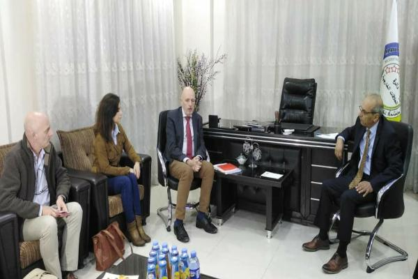 ​​​​​​​Belgian delegation visits the Department of Foreign Relations of AA