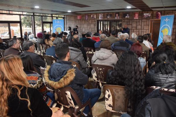 Intellectuals Union in Al-Jazeera organizes lecture on kurdish culture and language