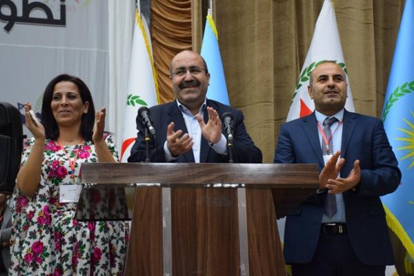 Anwar Muslim, Aisha Hesso elected as PYD's co-chairs