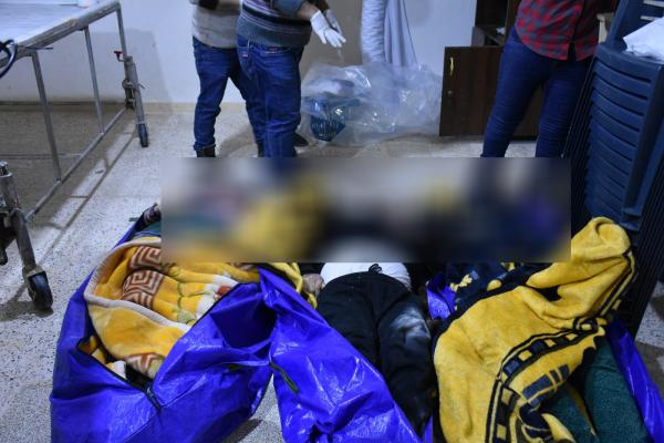 Another massacre committed by Turkey … 3 members of one family martyred in Sherawa